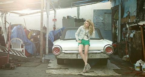 hotgirl va xe co 5