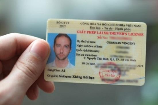 Thủ tục đổi bằng lái xe Mỹ sang Việt Nam